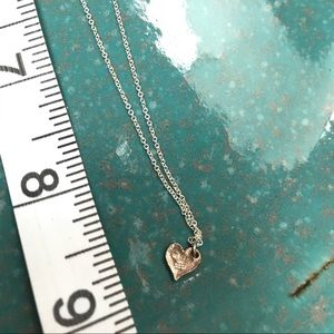 Tiffany Jewelry - Petite sterling heart necklace
